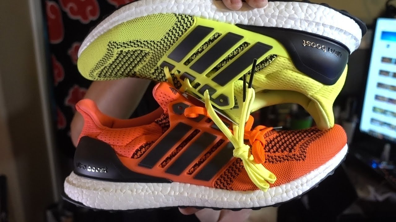 Adidas Ultra Boost 1.0 Solar Orange and Neon Yellow Re-release QUICK REVIEW SIZING!!