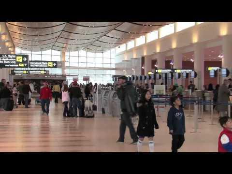 Winnipeg airport grand opening