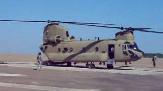 CH 47F Full Startup Sequence