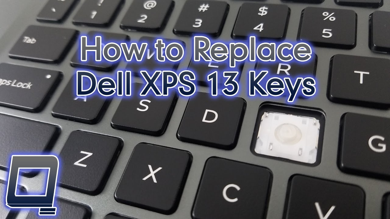 How to Replace Dell XPS 13 Keys (includes spacebar!)