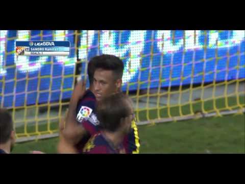Sandro Ramirez Goal vs Villareal (away) 2014/2015