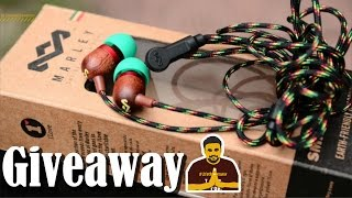 GIVEAWAY : House of Marley Smile Jamaica Headphone [Rasta] REVIEW