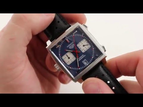 "Tag Heuer Monaco Caliber II ""Steve McQueen"" CAW211P Luxury Watch Review"