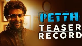 Petta Teaser - Marana Mass Breaking Records | Thalaivar Rajinikanth | Karthick Subbaraj | Aniruth