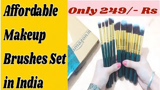 Affordable & Best Makeup Brushes Set in India || THE PUNJABAN BEAUTY ||