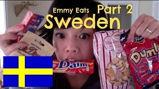 Emmy Eats Sweden - Part 2 - Tasting more Swedish sweets
