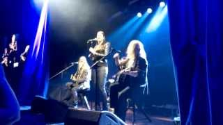 Marco and Troy with Floor Jansen   Alone