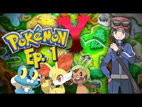 Pokemon X/Y: Welcome To Kalos: Nuzlocke Edition! EP. 1