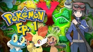 Pokemon X/Y: Welcome to Kalos: Nuzlocke Edition! EP. 1