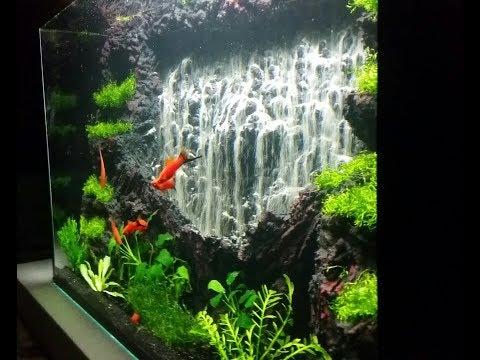 Powerful waterfall 1 --Aquarium sand waterfall 46