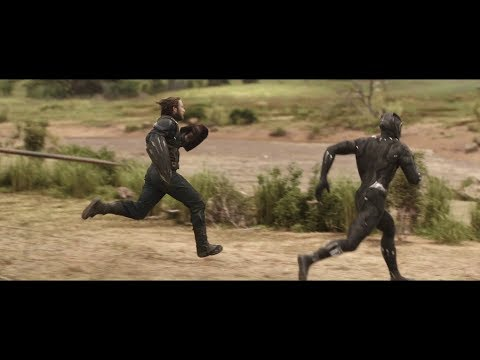 Avengers: Infinity War - Captain America and Black Panther outruns everyone/Running Scene [HD] 2018 thumbnail