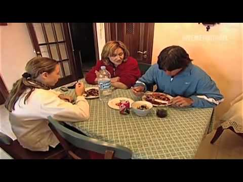 Young Rafael Nadal and his family in Manacor