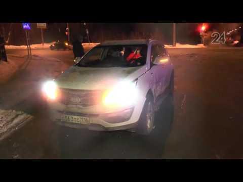 В поселке Дербышки на улице Мира произошло ДТП