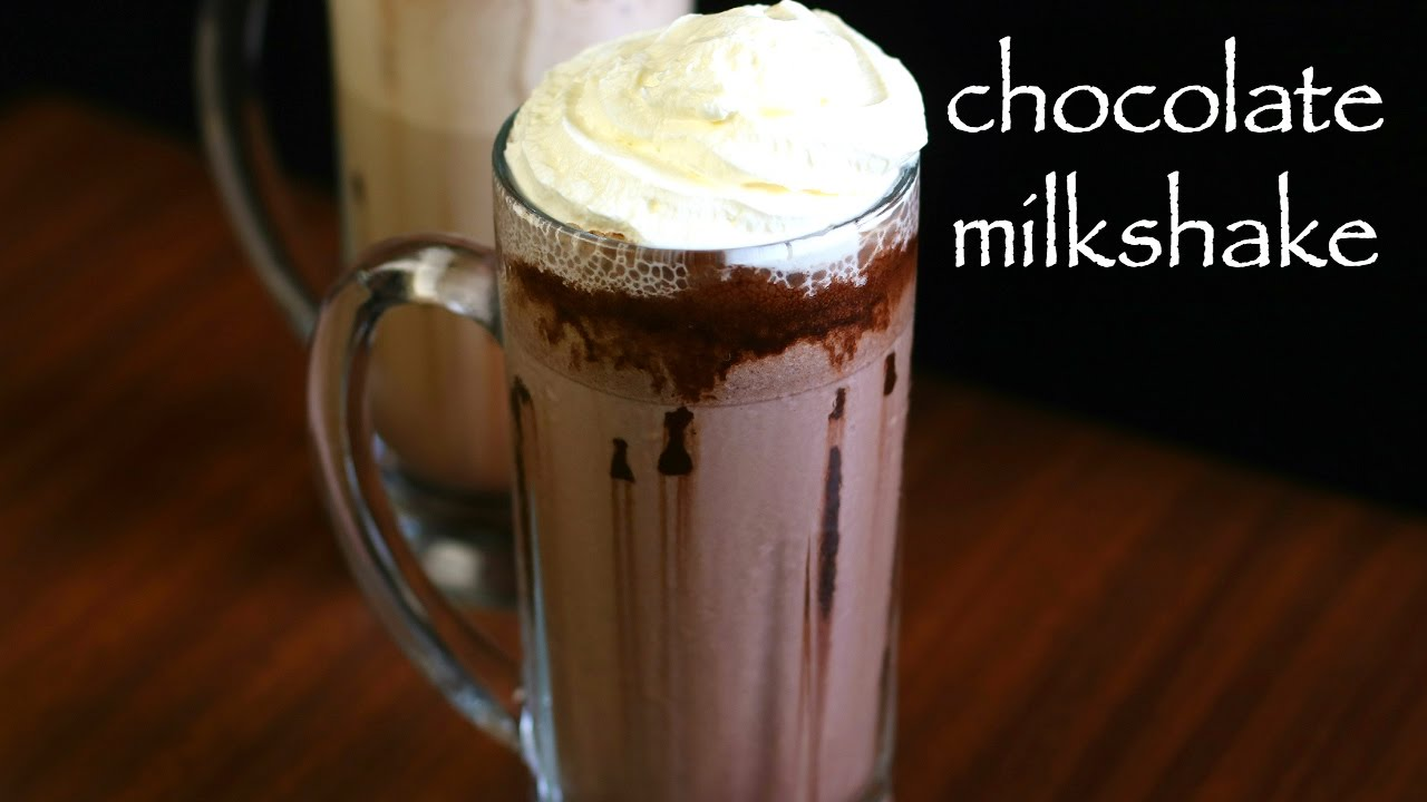 Chocolate Milkshake Recipe Chocolate Shake Homemade