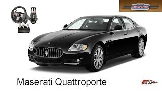 Maserati Quattroporte тест - драйв, обзор, динамика, разгон, тачка для мажоров в City Car Driving