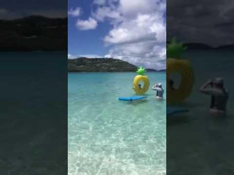 Hawksnest Beach U. S. Virgin Islands National Park