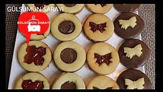 Recelli kurabiye / weihnachtsplätzchen / nutellalikurabiye / kurabiye tarifi / GÜLSÜMÜN SARAYI
