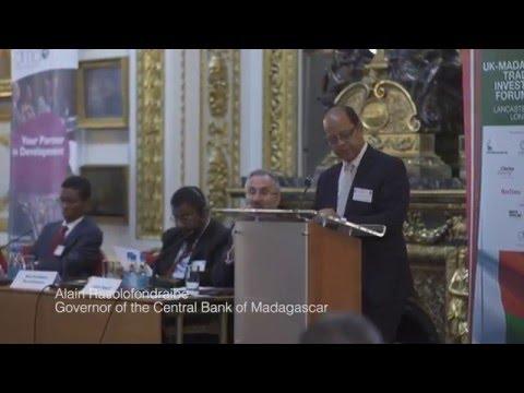 UK-Madagascar Trade & Investment Forum 2015 - Highlights