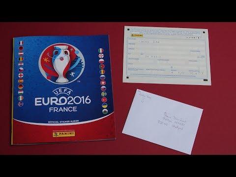 PANINI STICKER UEFA CUP 2016 new sticker for Panini Album Lucky Bag Bestellung bei Panini
