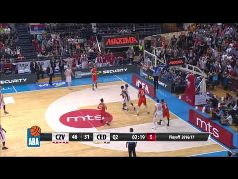 ABA Liga 2016/17 highlights, Finals, Game 2: Crvena zvezda mts  - Cedevita (11.4.2017)