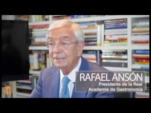 Rafael Ansón y su visión de la gastronomía en España | CHEF DIGITAL TV