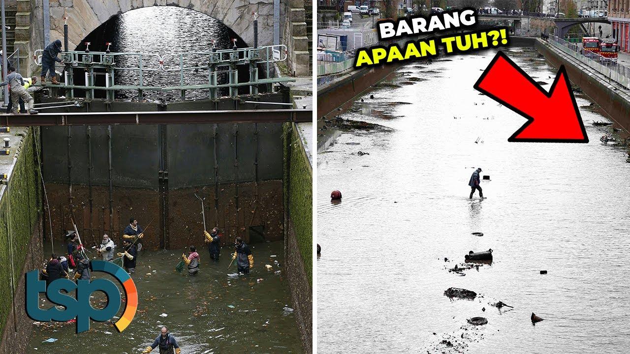 Ketika Kanal Berusia 200 Tahun Dibersihkan, Inilah Barang-Barang Tak Terduga yang Ditemukan