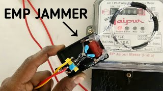 Emp Jammer For Electric Meter