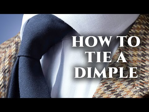 Tie dimple guide how to tie a tie with a dimple every time with tie dimple guide how to tie a tie with a dimple every time with any knot ccuart Images