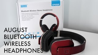 review august ep650 bluetooth wireless stereo headphones