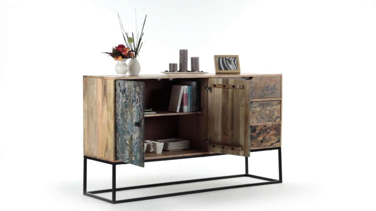 sideboard marmor optik youtube. Black Bedroom Furniture Sets. Home Design Ideas