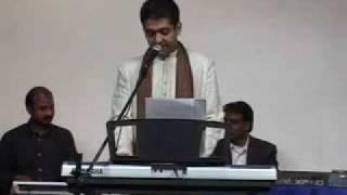 Sanjeev Ramabhadran sings-  Ae Gham e dil kya karoon....at sangeet smriti (3).flv