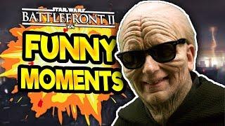 Star Wars Battlefront 2 Funny & Random Moments [FUNTAGE] #45