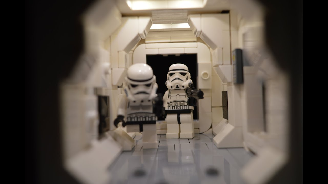 Lego Star Wars Tantive Iv Moc A New Hope Series Part 1 Youtube