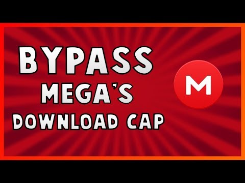Mega Bypass download limit quota - YouTube
