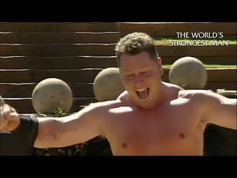 The World's Strongest Man Classics 1994: Magnus Ver Magnusson takes on the Atlas Stones