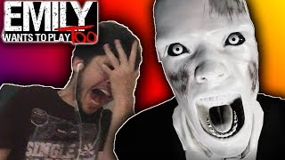 I KEEP GETTING JUMPSCARED!! (miserable) Emily Wants to Play Too #3