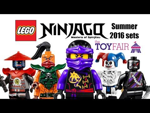 LEGO Ninjago 2016 Summer sets descriptions!