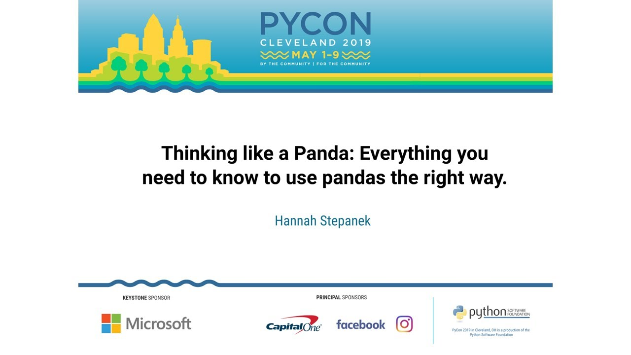 Image from Thinking like a Panda: Everything you need to know to use pandas the right way.
