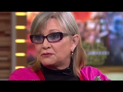 Carrie Fisher Gets HILARIOUS On Good Morning America| What's Trending Now