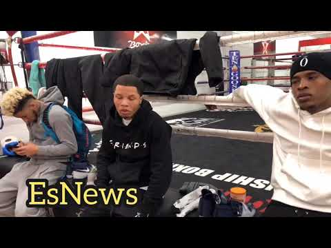 Gervonta Davis Reaction To Abner Mares Detached Retina 'wishing him a quick recovery'