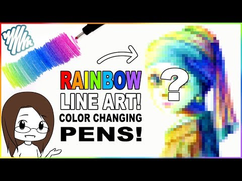 Recreating Renaissance Art With Color Changing Pens! ScrawlrBox August 2019 Unboxing