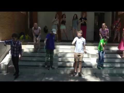 Russian Students sing the UW Cowboys Fight Song (MASS-2015)