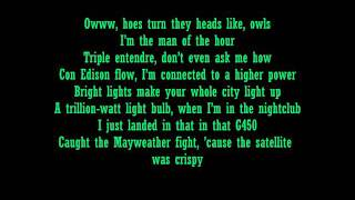 Drake- Light up (Ft.Jay-Z) Lyrics
