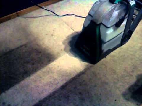 putting the bissell big green deep cleaning machine to the test