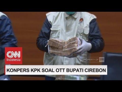 Kronologi OTT Bupati Cirebon, KPK Gelar Barang Bukti