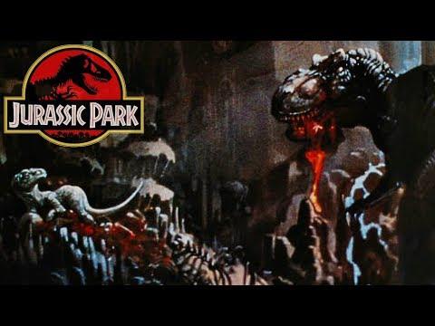 Top 5 SCARIEST Jurassic Park Novel Scenes! - With DangerVille