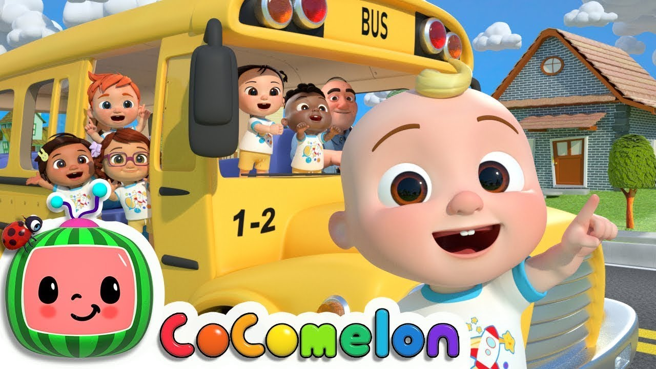Download Wheels On The Bus + @Cocomelon - Nursery Rhymes & Kids Songs   Best Baby Songs   Moonbug Kids