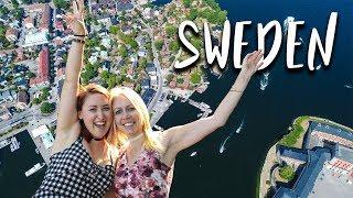 Visiting STOCKHOLM, SWEDEN + the ARCHIPELAGO during a summer heat wave (vlog + drone footage)