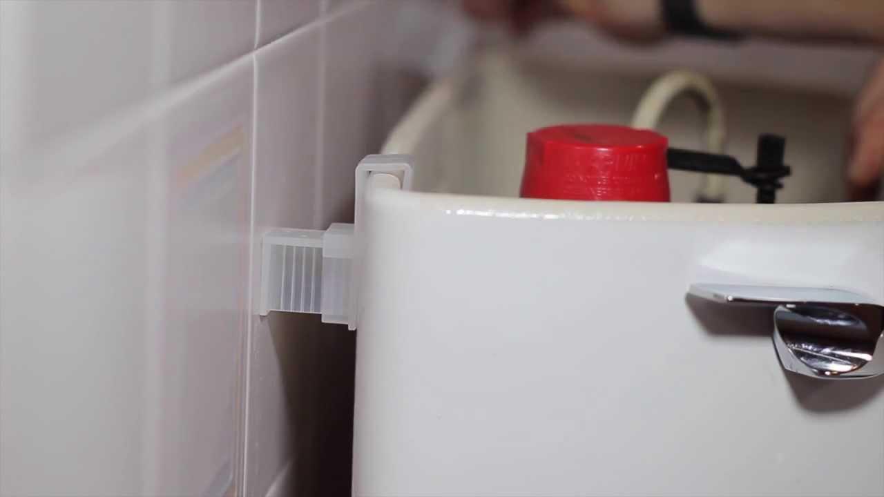 Secure A Tank Toilet Tank Brace Youtube