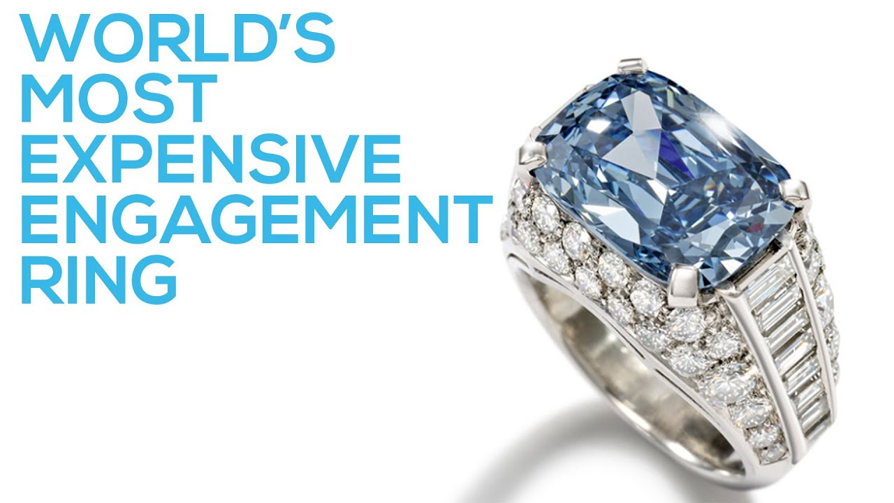 Most Expensive Engagement Ring in the World YouTube